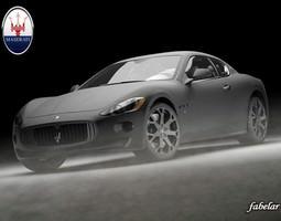 Maserati GT Elkann std mat 3D Model