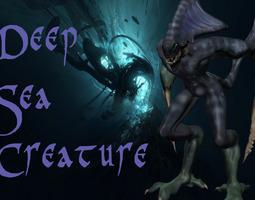 3D printable model Deep-Sea-Creature