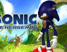 Sonic the Hedgehog 3D printable model