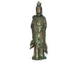 3D printable model 3D model realtime Goddess of Mercy