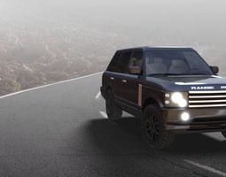 3D asset Range Rover Vogue