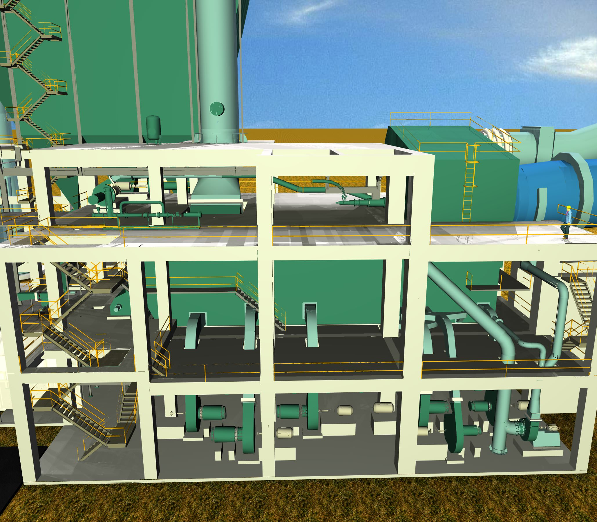 Flash Cement Plant In Cooler : Cooler electrostatic precipitator cement free d