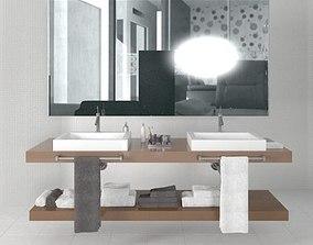 Bathroom furniture 10 am168 3D