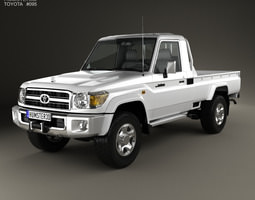 Toyota Land Cruiser J79 Single Cab 2007 3D