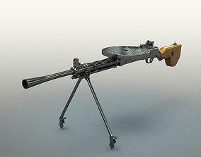 3D model DP-27 machine gun