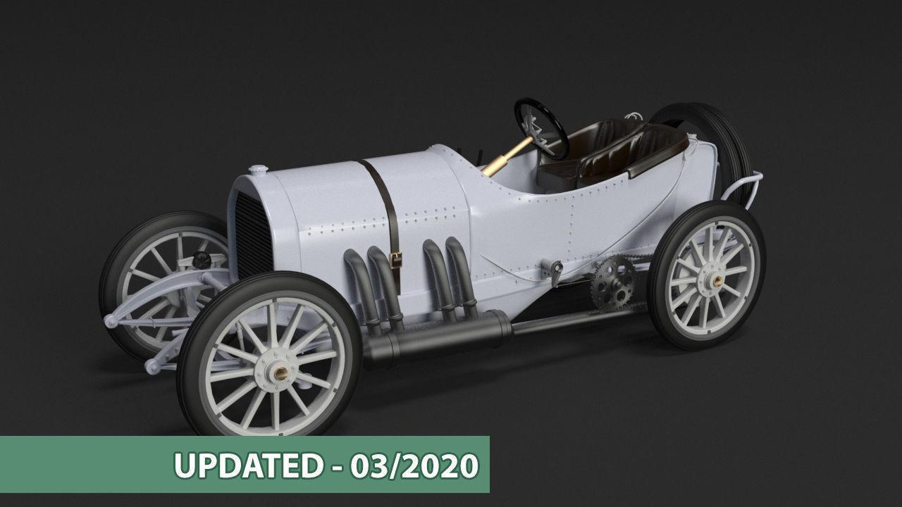 Mercedes GP 1908 oldtimer