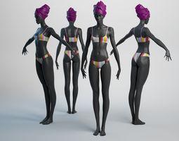 3D model Female Basemesh 05