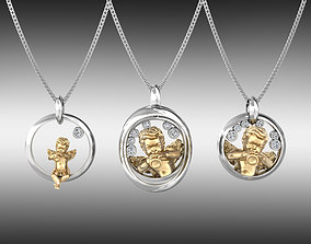 Angel Pendants - All 3 models