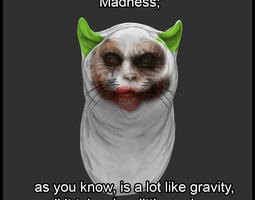 Joker Cat 3D print model