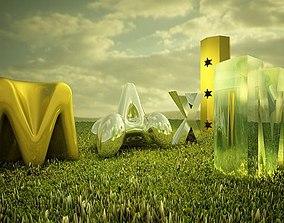 3D model Vray Settings Materials no PS