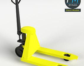 3D model Pallet Jack Skid Lifter