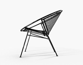 3D Hoop Lunga Chair of the metal lattice furniture