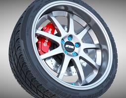 3D Work Emotion XD-9 Wheel
