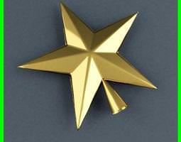 XMasTreeTop Star 3D model