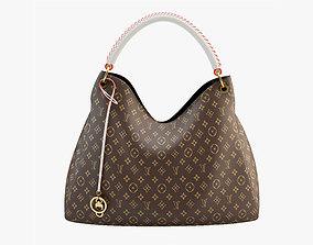3D model Bag Louis Vuitton Brown
