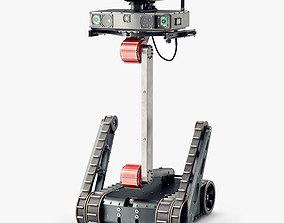 3D asset Lobaev Tactical Robot Minirex RS1A3
