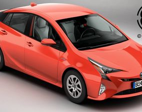 japan 3D model Toyota Prius 2016