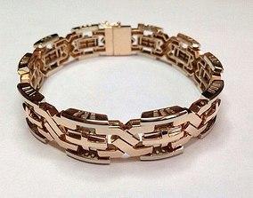 3D print model Gold bracelet