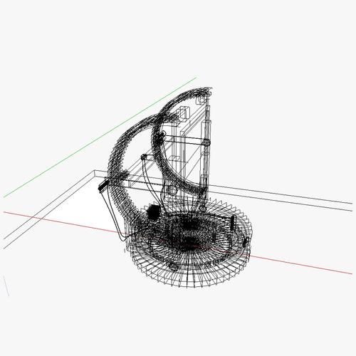at heliostat 3d model skp