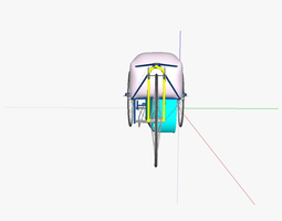 3D model AT e-velomobile