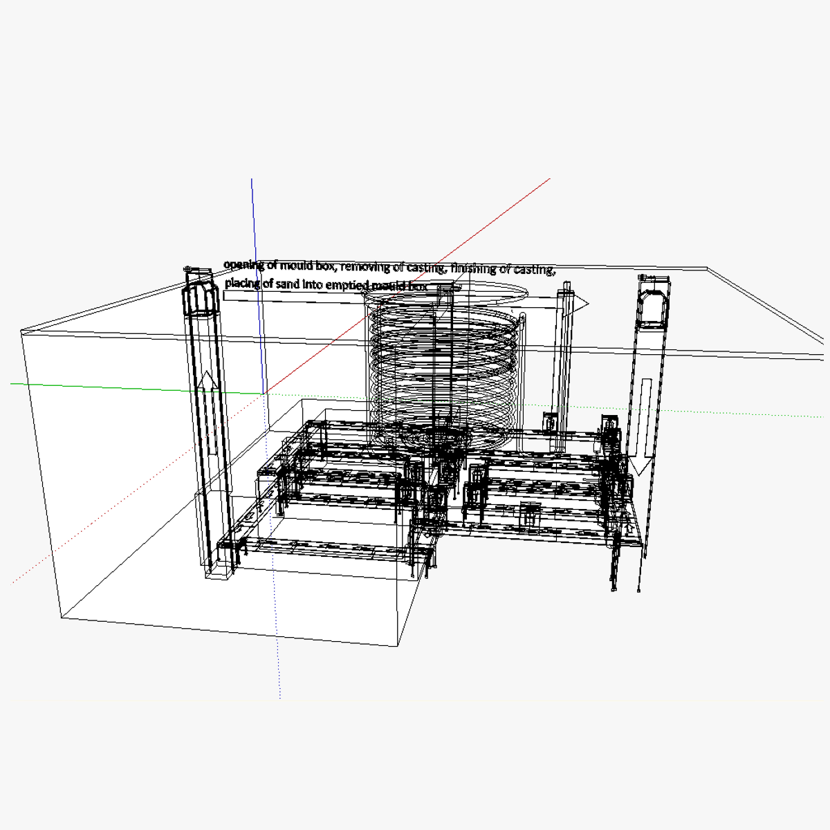 3d Modular Kiln Cgtrader Wiring Diagram Model Skp 6