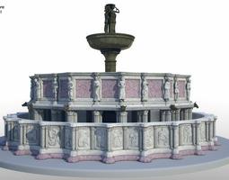 Fontana maggiore 3D model