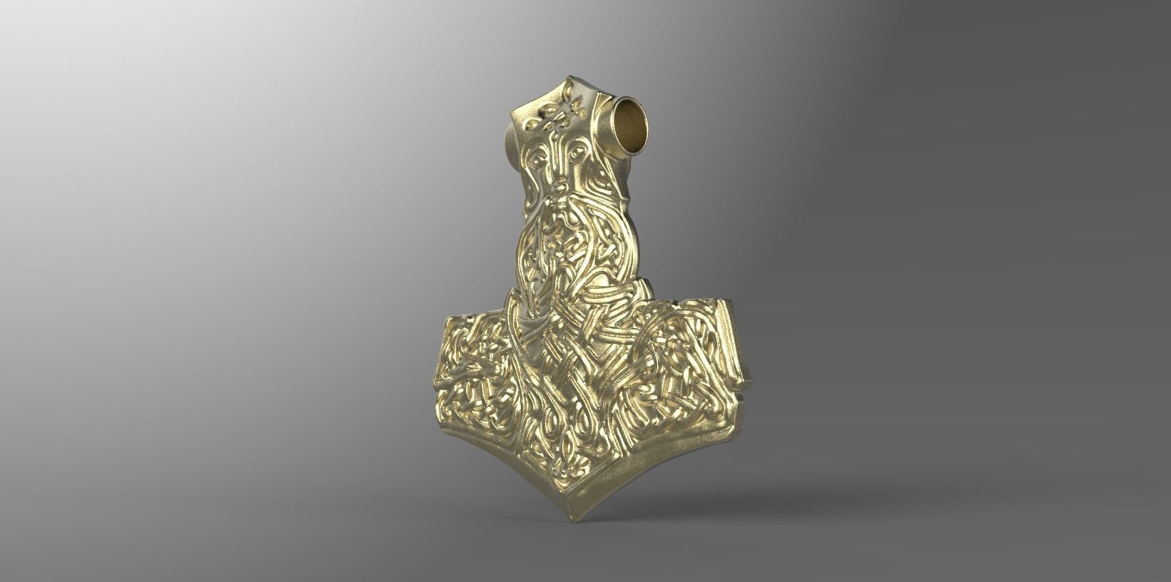 hammer of thor 3d printable model cgtrader