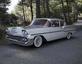 Chevrolet Delray 2-Door Sedan 1958 3D model