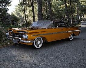 Chevrolet Impala 1959 3D model usa