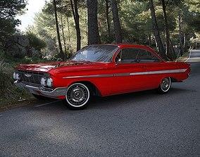 brookwood Chevrolet Impala 1961 3D model