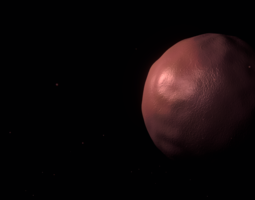 3D model Red Moon