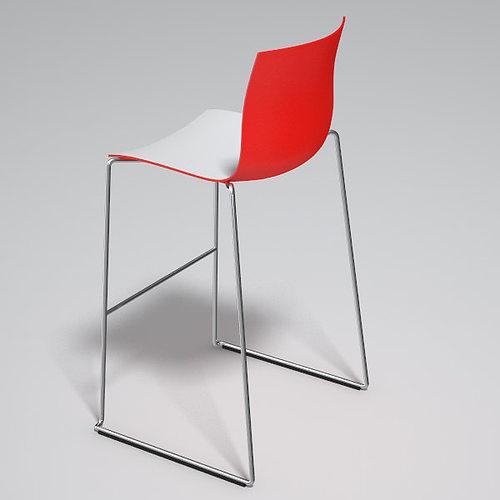 catifa 46 high chair barstool arper 3d model max obj fbx 13  sc 1 st  CGTrader.com & 3D Catifa 46 high chair barstool Arper | CGTrader islam-shia.org