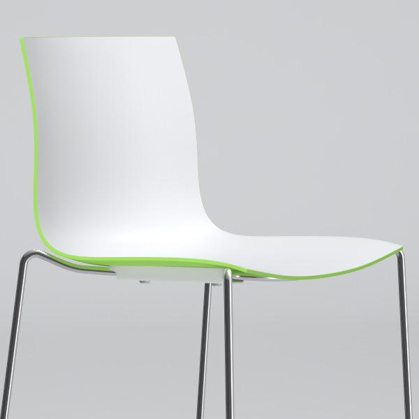 Catifa 46 high chair barstool Arper 3D Model MAX OBJ FBX  : catifa 46 high chair barstool arper 3d model max obj fbx from www.cgtrader.com size 600 x 600 jpeg 28kB