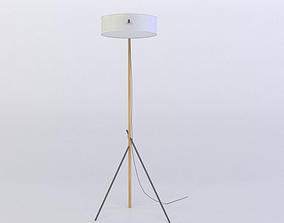 low-poly RBW EXCEL FLOOR LAMP 3D MODEL
