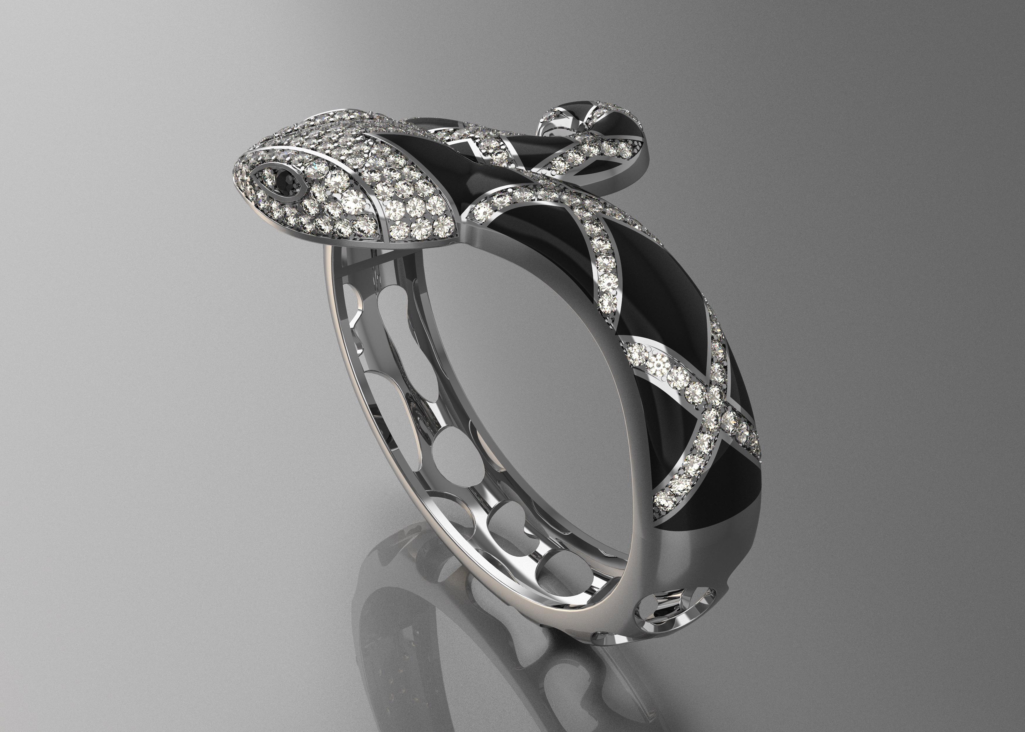 Bracelet Snake 3d Model 3d Printable Stl Cgtrader Com