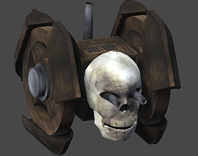 Pirate ship tank1 3D asset