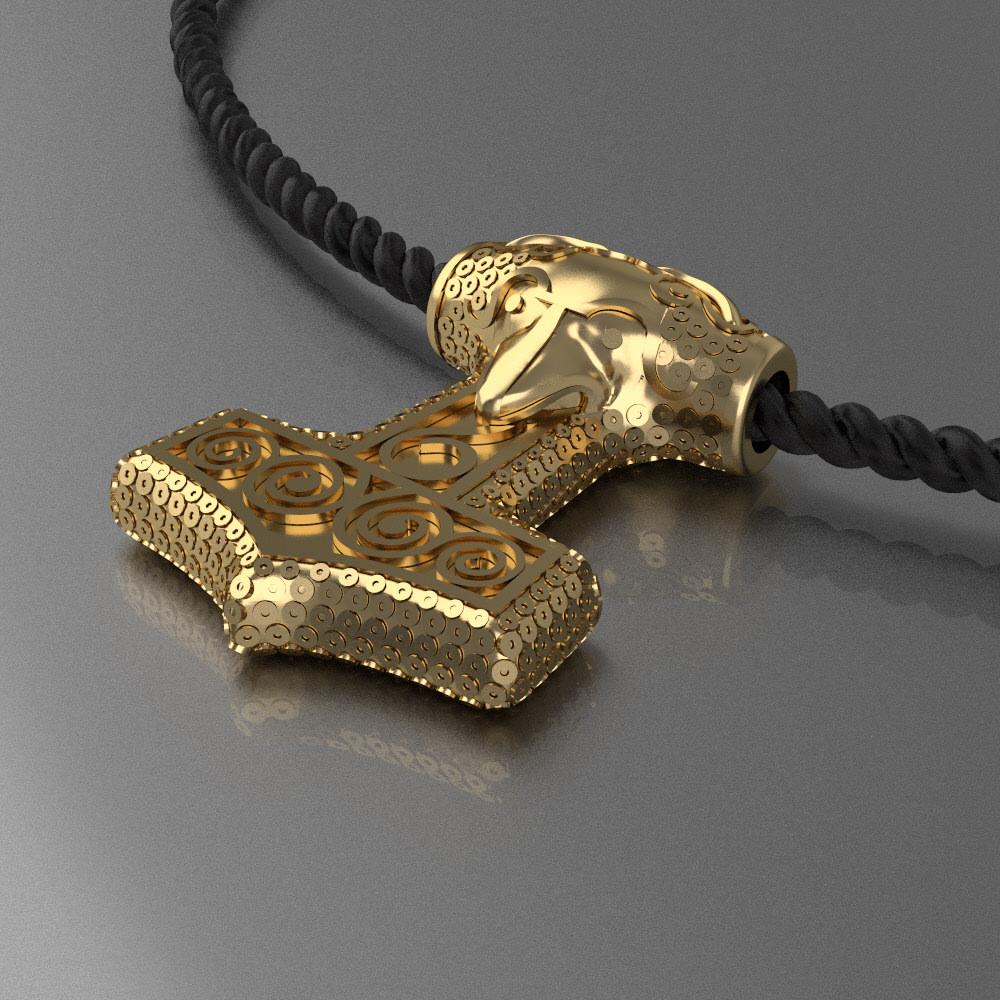 Amulet of Thor s hammer Mjolnir