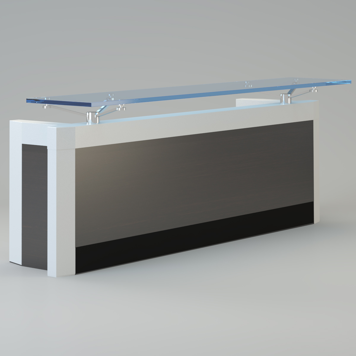 Contemporary Reception Desk 3d Model Max 3