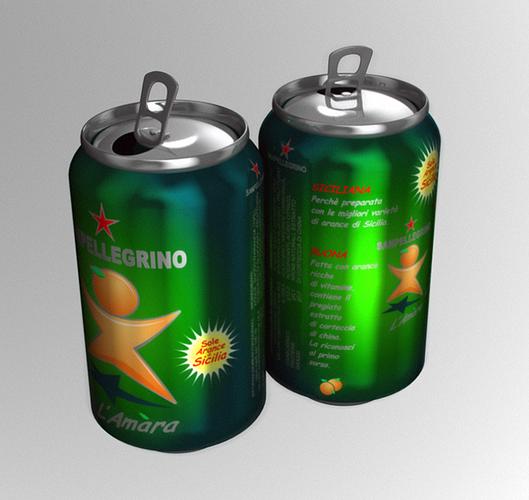 italian beverage can 3d model obj mtl 1