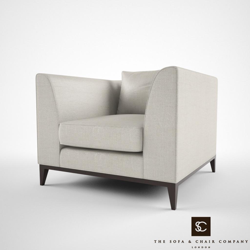 Phenomenal The Sofa And Chair Company Pollock 3D Model Creativecarmelina Interior Chair Design Creativecarmelinacom