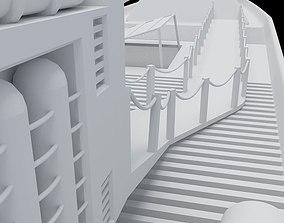 Yacht 3D model realtime