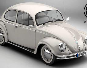 Volkswagen Beetle 2003 Ultima Edicion 3D model