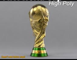 2014 3D model FIFA World Cup