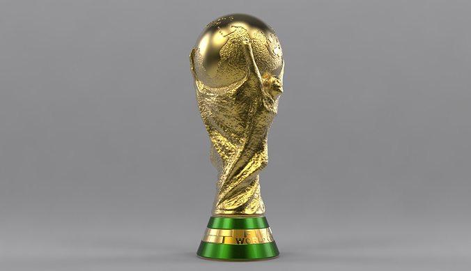 Fifa World Cup D Model Max Obj Fbx Stl Mtl