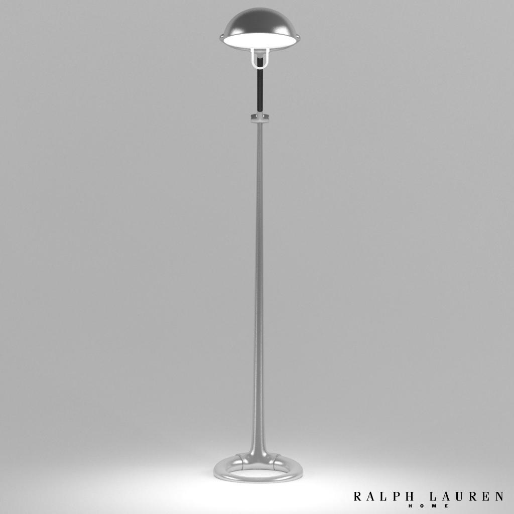 ralph lauren westbury floor lamp 3d model max obj fbx. Black Bedroom Furniture Sets. Home Design Ideas