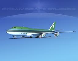 3D Boeing 747-100 Aer Lingus