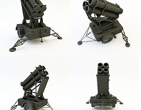 Rocket launcher 3D asset