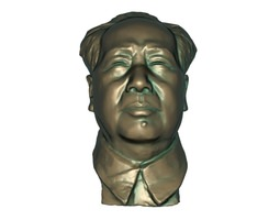 Chairman Mao india 3D asset low-poly