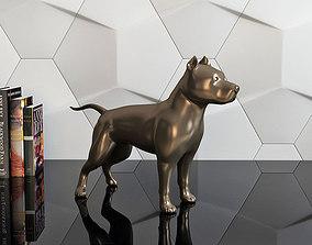 figure pit bull 3D print model