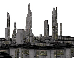 orion colonial city 3d print model